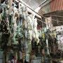 Lamaföten auf dem Markt.
