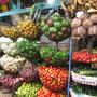 Frisches Gemüse auf dem Markt.