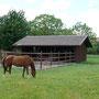 Pferdekoppel, vielgesehen in Linx