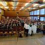 Die Hans-Weber-Halle füllte sich frühzeitig mit den Gästen des Festaktes
