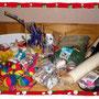 Diese tollen Spielsachen bekamen wir von Claudia Kerpen aus der Winterhilfe