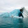Eisberg - gerade umgekippt