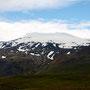 Snaefellsjökull - am Morgen noch im Sonnenlicht