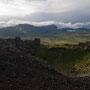 Krater und Snaefellsjökull
