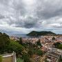 Angra mit Monte Brasil im Hintergrund
