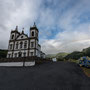 Igreja Nossa Senhora de Lurdes mit Regenbogen