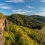 Aussicht von der Burg Brück (Panorama)