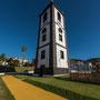 Einsamer Turm (Überbleibsel des letzten Erdbebens)