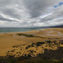 Strand Raudisandur in Melanes