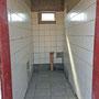 Dies ist die separate Lehrertoilette, ein muss hier in Namibia.