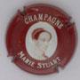 Marque : STUART MARIE N° Lambert : 3 Couleur : Bordeaux et blanc Description : Portrait de Marie Stuart  Emplacement :