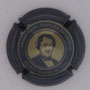 Marque : HEIDSIECK Charles N° Lambert : 70d Couleur : Cercle central or. gris bleuté et or pâle - 32mm Description : Portrait Charles Hiedsieck  Emplacement :
