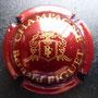 Marque :  FIGUET Bernard N° Lambert : 1 Couleur :  Bordeaux et or Description : Intiales FB stylisées   dans une armoirie  Emplacement :