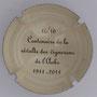 Marque : SONNET Jacques N° Lambert : 10 verso Couleur : Crème et noir Description : Centenaire de la révolte des vignerons de l'Aube - 1911 - 2011  Emplacement :