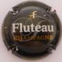 Marque : FLUTEAU  N° Lambert : 8  Couleur : Fond noir Description : Nom de la marque Emplacement :