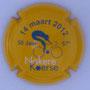 Marque : ASTREE (Vincent d') N° Lambert : 17 Couleur : Fond jaune Description : 67 ème Course cycliste Nokere - Koerse  Emplacement :