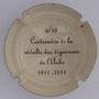 Marque : SONNET Jacques N° Lambert : 6 verso Couleur : Crème et noir Description : Centenaire de la révolte des vignerons de l'Aube - 1911 - 2011  Emplacement :