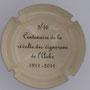 Marque : SONNET Jacques N° Lambert : 2 verso Couleur : Crème et noir Description : Centenaire de la révolte des vignerons de l'Aube - 1911 - 2011  Emplacement :