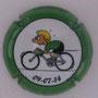 Marque : ROUYER Philippe N° Lambert : 25a Couleur : vert, contour vert Description : Tour de France 2014 passage en Belgique - nom de la marque    Emplacement :