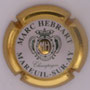 Marque : HEBRAT Marc N° Lambert : 4 Couleur : Contour or Description : initiales dans ovale - Nom de la marque Emplacement :
