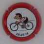 Marque : ROUYER Philippe N° Lambert : 25b Couleur : rouge, contour rouge Description : Tour de France 2014 passage en Belgique - nom de la marque    Emplacement :