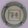 Marque : FRESNE EMILIEN N° Lambert : NR2 Couleur : Contour vert Description : Initiales dans un carré et nom de la marque sur le pourtour  Emplacement :