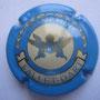 Marque : FALLET - DART N° Lambert : 11 Couleur : Bleu clair Description : Armoiries dans un cercle crème  Emplacement :