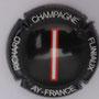 Marque : RICHARD - FLINIAUX N° Lambert : 14k Couleur : Fond noir, lettre rouge et blanche Description : lettres I - nom de la marque  Emplacement :
