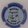 Marque : RICHOMME M N° Lambert : 1-1 Couleur : Contour bleu Description : 1er souvenir Moïse RichoMMe 1998 - Nom de la marque   Emplacement :