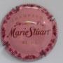 Marque : STUART MARIE N° Lambert : 13 Couleur : Fond rose Description : Nom de la marque au-dessous d'une couronne  Emplacement :