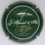 Marque : FANIEL et fils N° Lambert : 1 Couleur : Vert et blanc Description : Initiales stylisées et nom de la marque  Emplacement :