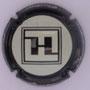 Marque : FRESNE EMILIEN N° Lambert : 7b Couleur : Contour noir Description : Initiales dans un carré et nom de la marque sur le pourtour  Emplacement :