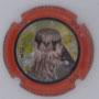 Marque : FOUREUR Dominique N° Lambert : 3.2 Couleur : Contour orange Description : chouette - Nom de la marque Emplacement :