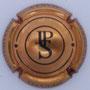 Marque : SECONDE JP N° Lambert : 15 Couleur : Cuivre et noir Description : Lettres JPS dans un cercle   Emplacement :