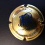 Marque :  ROBERT Philippe N° Lambert : 3 Couleur :  Or et Bleu  Description : Initiales cursives  Emplacement : 094-04-03