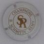 Marque : SCHMITTE - REMY B N° Lambert : 1 Couleur : Blanc et Or Description : Initiales et nom de la marque.  Emplacement :