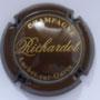rque : RICHARDOT N° Lambert : 4 Couleur : Marron, lettres or epaisses  Description : Nom de la marque  Emplacement :
