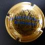Marque : HEIDSIECK MONOPOLE N° Lambert : 59 - type 2 clair Couleur :  Or, inscription bleue. Diam 30 Description : Inscription Hiedsieck Monopole sur deux lignes  Emplacement : 060-07-02