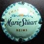 Marque : STUART MARIE N° Lambert : 12 Couleur : Fond vert Description : Nom de la marque au-  dessous d'une couronne  Emplacement :