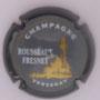 Marque : ROUSSEAUX - FRENET N° Lambert : 5 Couleur : Gris , contour gris strié. Description : Phare de Verzenay - nom de la marque Emplacement :