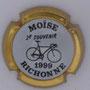 Marque : RICHOMME M N° Lambert : 1-3 Couleur : Contour or Description : 2ème souvenir Moïse RichoNNe 1999 - Nom de la marque   Emplacement :