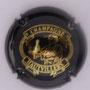 Marque : HAUTVILLERS N° Lambert : 35 Couleur : Noir et or Description : Dom Pérignon  Emplacement :