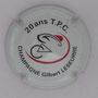 Marque : LESEURRE Gilbert  N° Lambert : 8b Couleur : Blanc Description : 20 ans du TPC (Tour du Poitou Charente) - Nom de la marque Emplacement :