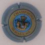 Marque : SERMIERS N° Lambert : 15 Couleur : Contour Bleu, striée Description : Blason couronné - nom de la marque  Emplacement :