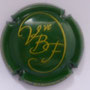 Marque : BARDOUX & fils (veuve) N° Lambert : 20 Couleur : Vert et or Description : Initiales VBF  Emplacement :