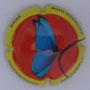 Marque : SOURDET - DIOT N° Lambert : NR1 Couleur : Polychrome Description : Papillon - nom de la marque  Emplacement :