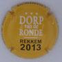 Marque : ROUYER Philippe N° Lambert : 20a Couleur : Dorp van der Ronde blanc Description : Tour des Flandres 2013 Emplacement :