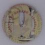 Marque : FONTAINE N° Lambert : NR Couleur : Fond crème Description : Coupe de champagne  Emplacement :