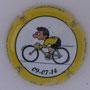 Marque : ROUYER Philippe N° Lambert : 25 Couleur : jaune, contour jaune Description : Tour de France 2014 passage en Belgique - nom de la marque    Emplacement :