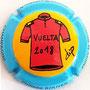 Marque : ROUYER Philippe N° Lambert : 95 Couleur : Polychrome,  Description : Maillot rouge Vuelta 2018  - nom de la marque sur le contour  Emplacement :